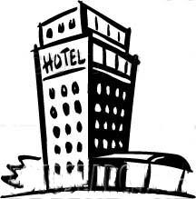 hotel clip art
