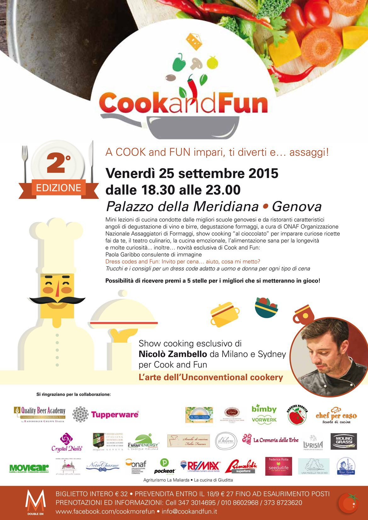 cook and fun movicar genova