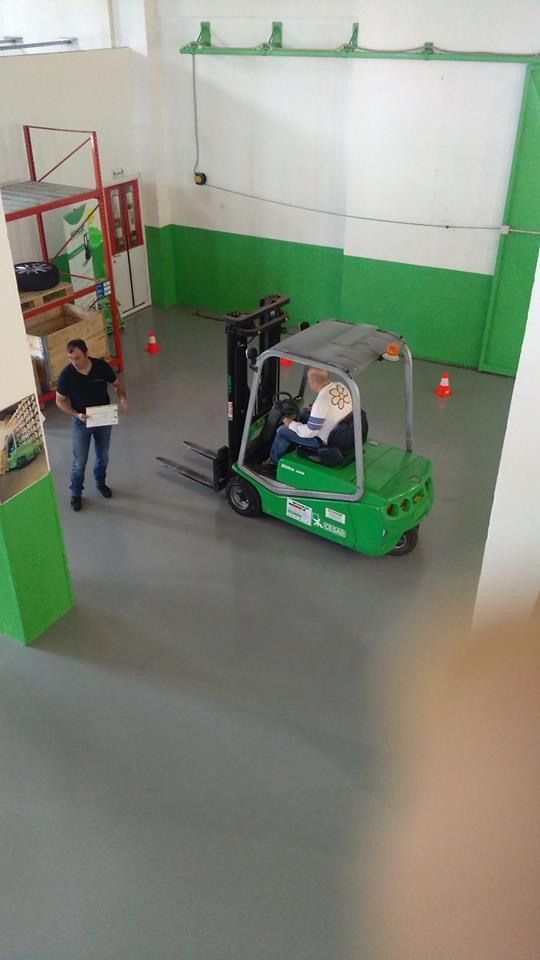 pratica supervisionata carrelli elevatori movicar