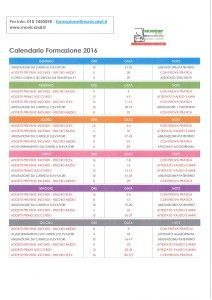 calendario corsi di formazione movicar 2016