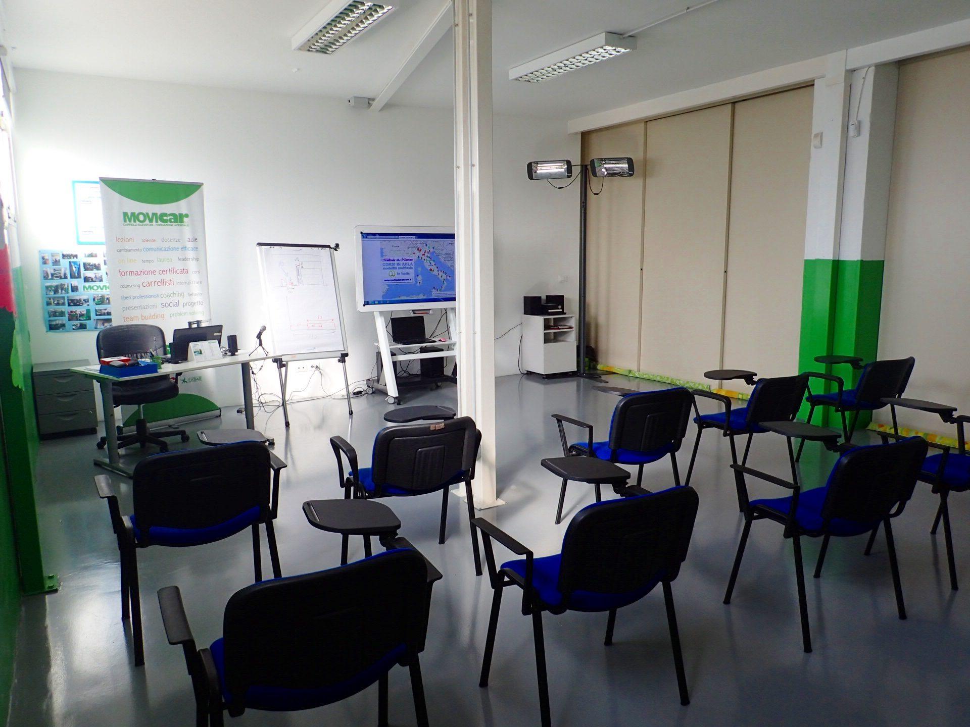 corsi in aula modalità multisala movicar
