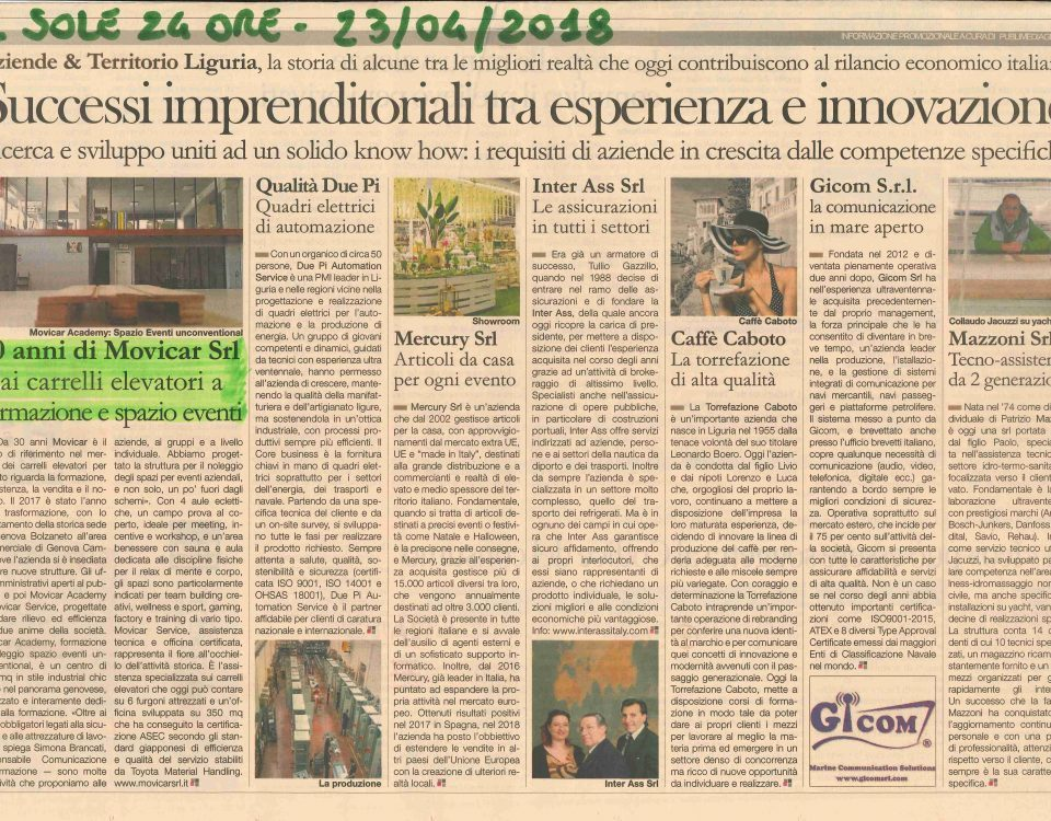 il sole 24 ore movicar